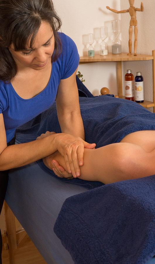 Massage relaxant du bras
